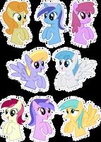 Pocket Pony Background Edition by OceanBreezeBrony