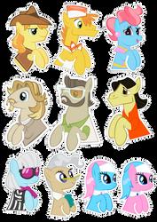 Pocket Pony Earth Pony Edition