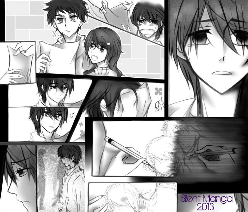Silaent Manga 2013 by 3leavesclover