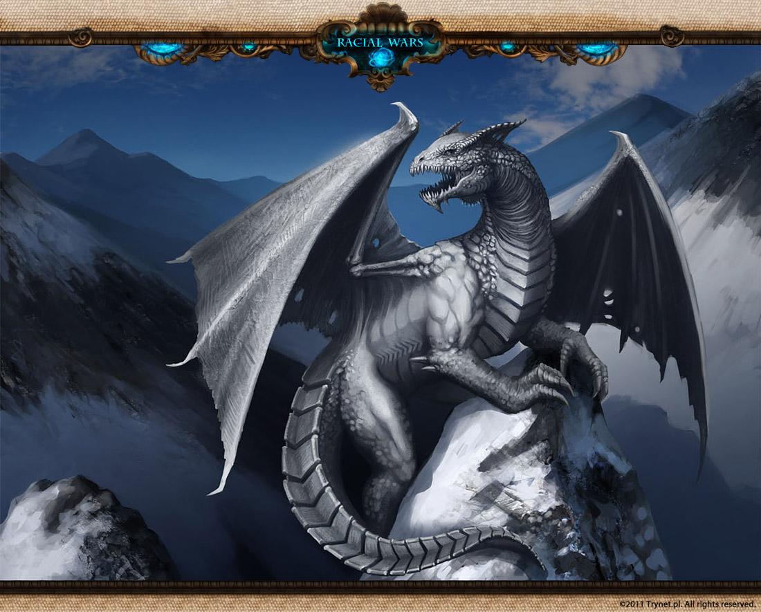 Racial Wars: White Dragon by telthona