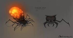 Silvernai: starblood spider