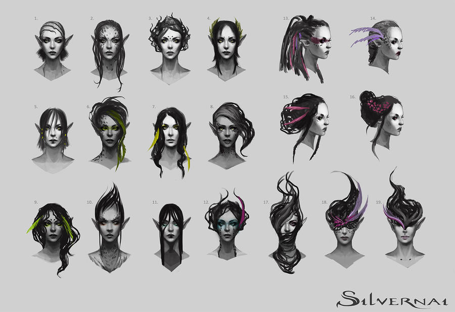 Difference Between Concept Art And Character Design : Silvernai inari concept art by telthona on deviantart
