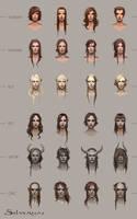 Silvernai: Haircut concept by telthona