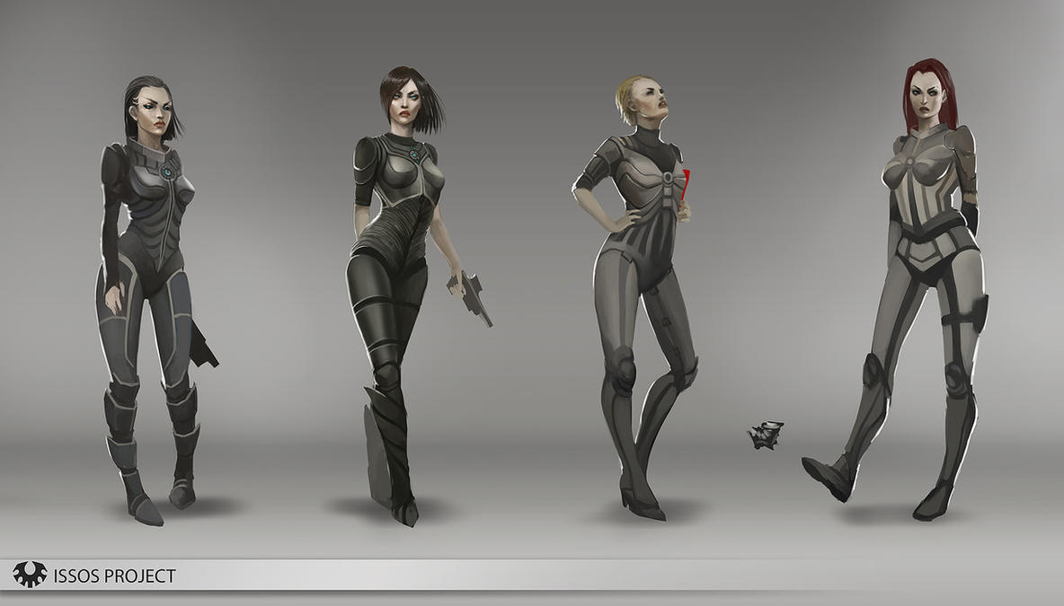 Sci Fi Character Design Tutorial : Sci fi armor design by telthona on deviantart