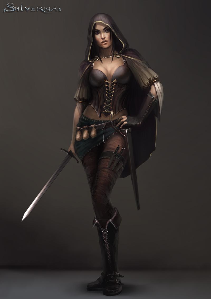 Fantasy Art Swashbuckler Duelist Rpg Character