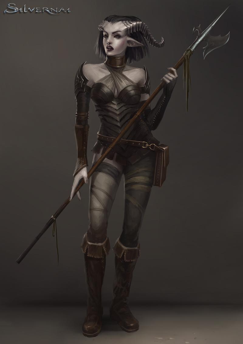 Silvernai: Satri by telthona