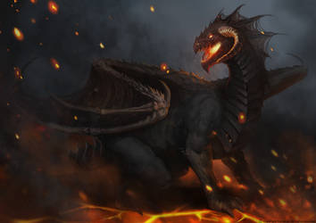 Racial Wars: Black Dragon by telthona