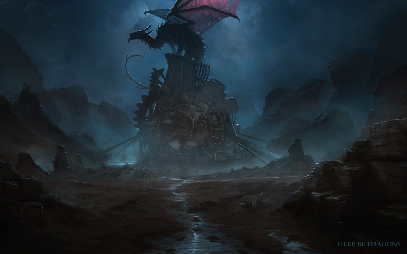 Here be Dragons - Ph. Dragon's Nest