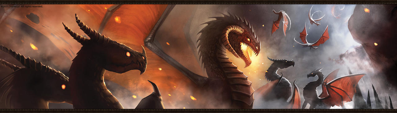 Racial Wars: Dragon Leader by telthona