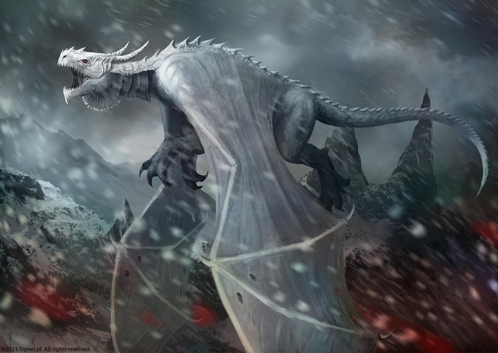 Racial Wars: Dragon Tian Shama by telthona