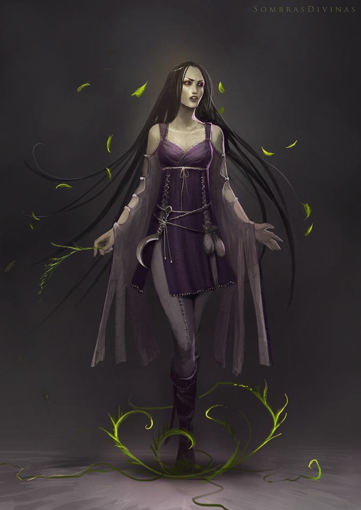 Sombras Divinas: Raven by telthona