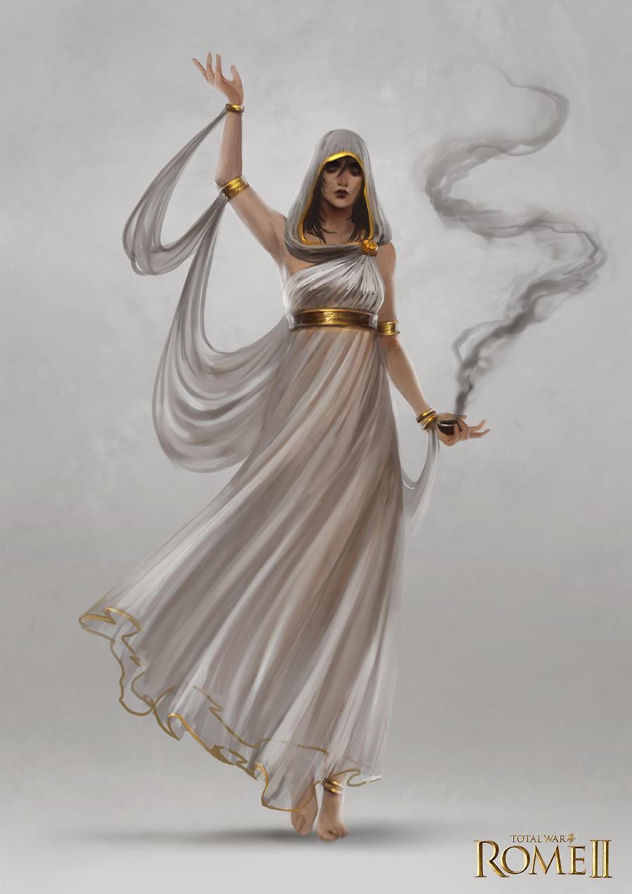Total War: Rome II - Oracle Concept Art