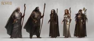 Total War: Rome II - Barbarian Agents Concept Art