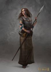 Total War: Rome II - Inceni Female Champion