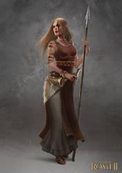Total War: Rome II - Germanic Female Champion