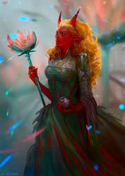 Lilac Priestess