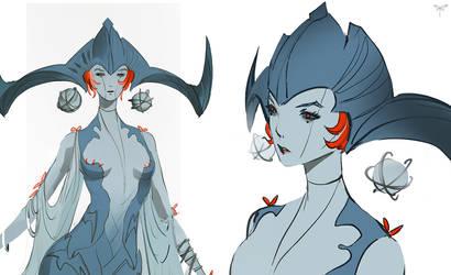 Goddess - detail by telthona