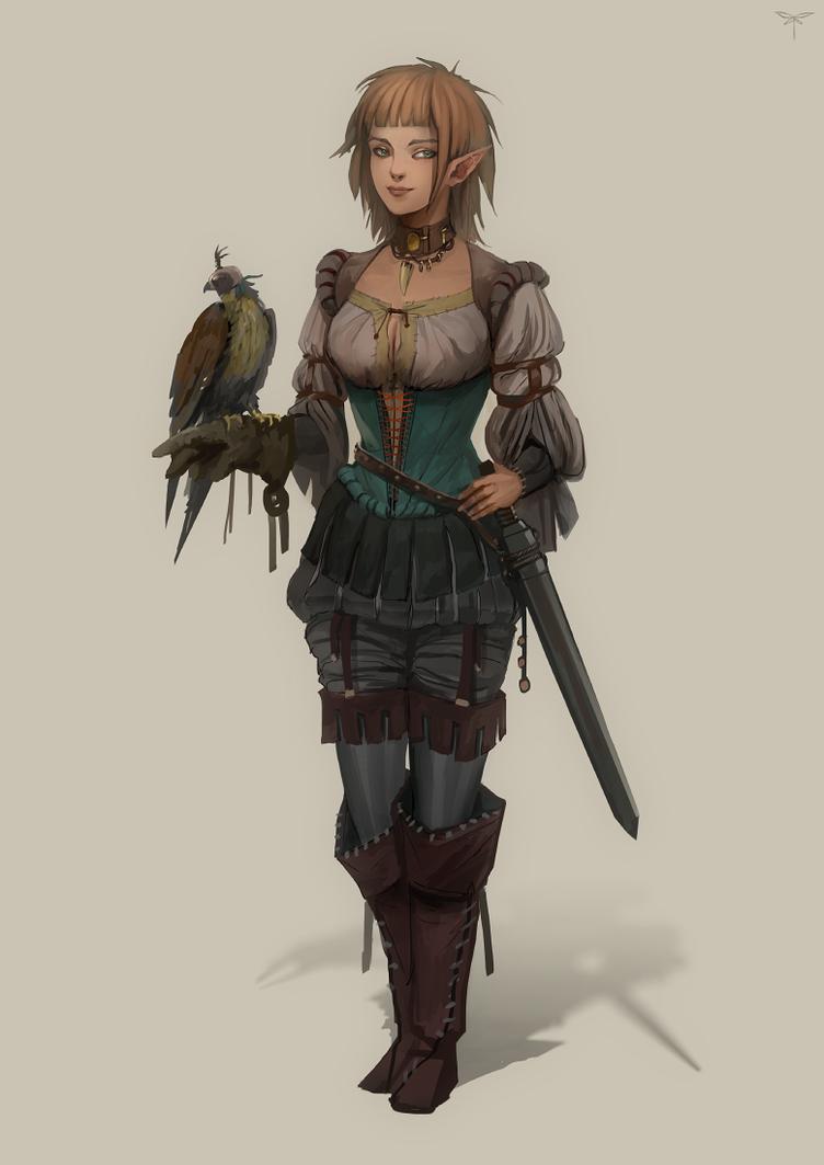 Falconer by telthona