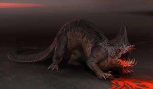 Lava Eater Creature