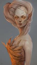 Golden Rose by telthona