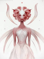 Rose Fairy by telthona