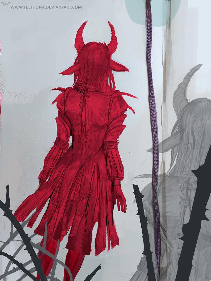Sketch 4 by telthona