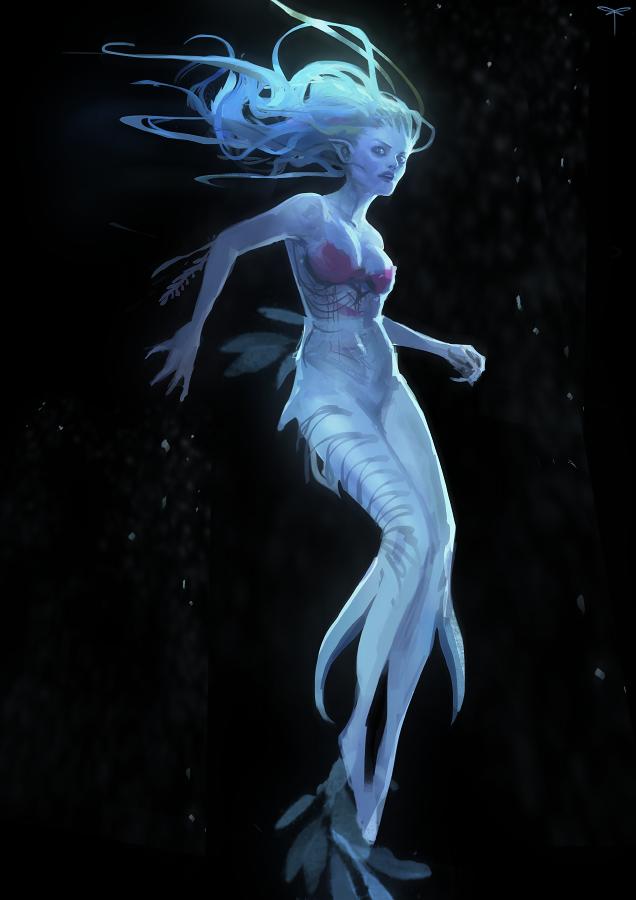 Mermaid - wip by telthona
