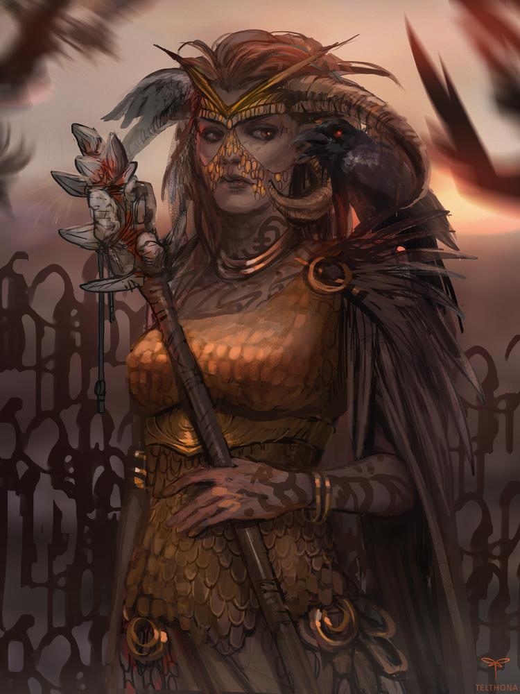 Great Shaman by telthona