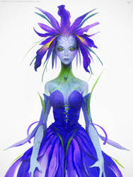 Iris Fairy by telthona