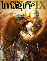 ImagineFX - Total War: Warhammer cover by telthona