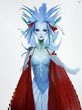 Blue Carmine Fairy