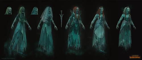 Total War: Warhammer Concept Art - Banshee