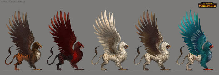 TW:WH Concept Art - Imperial Griffon
