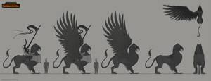 TW:WH Concept Art - Imperial Griffon Design