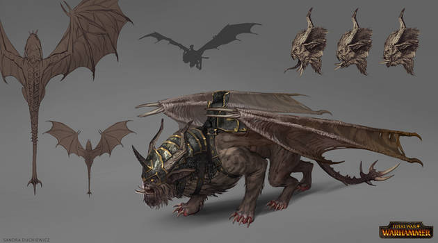 Total War: Warhammer Concept Art Manticore