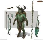 Total War: Warhammer Concept Art - Orion