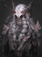 Poodle Moth   by telthona