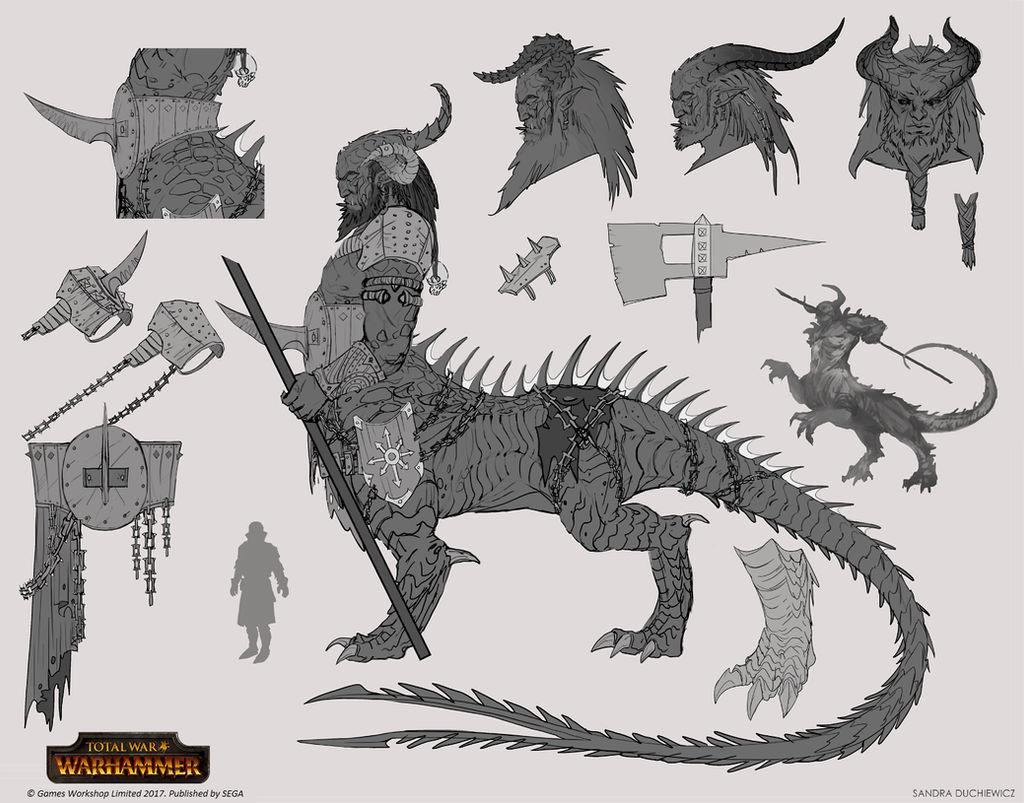 Total War: Warhammer - Dragon Ogre Shaggoth by telthona