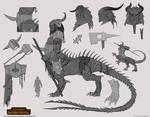 Total War: Warhammer - Dragon Ogre Shaggoth