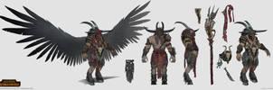 Total War: Warhammer - Malagor by telthona
