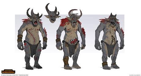 Total War: Warhammer - Chaos Trolls