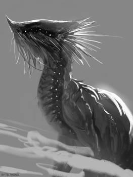 Dragon Sketch 3