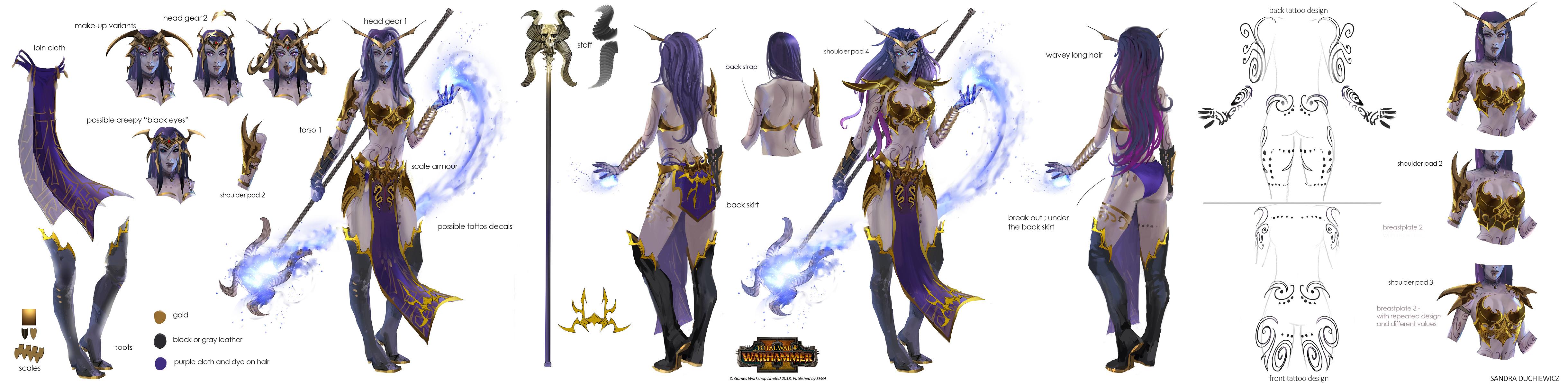 Total War Warhammer 2 - Supreme Sorceress