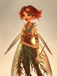 Fairy by telthona