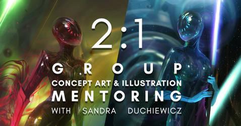Group Concept Art Mentoring!