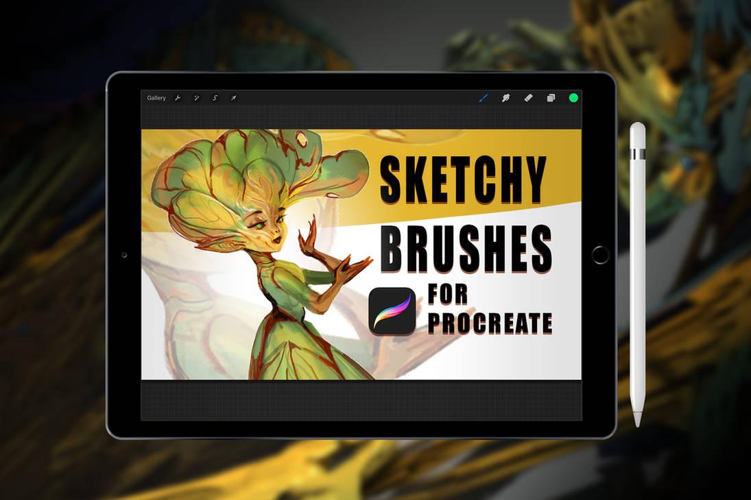 Procreate Brush - Sketchy