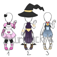 Outfit Adopts SET PRICE closed by duck-aderpts