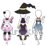 Outfit Adopts SET PRICE closed