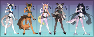 Anthro Adopts Auction OPEN