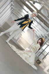 Princess Tutu: The Prince and the Princess by KelevarCosplay